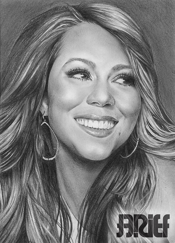 Drawn smile mariah carey Smile smile by Drawing by