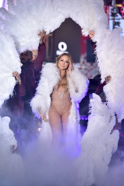 Drawn smile mariah carey Wargo/Getty Eve during New Theo