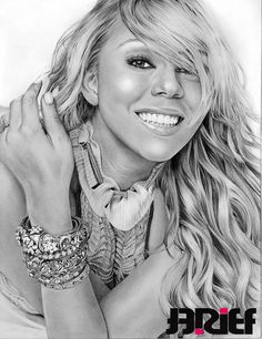 Drawn smile mariah carey GetMotivatedNaija:  Glamor Drawing: DAY