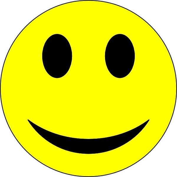 Bright clipart smiley face Face Smiley  ( clip