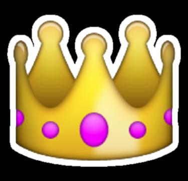 Drawn smileys Emoji crown Tumblr Just Because