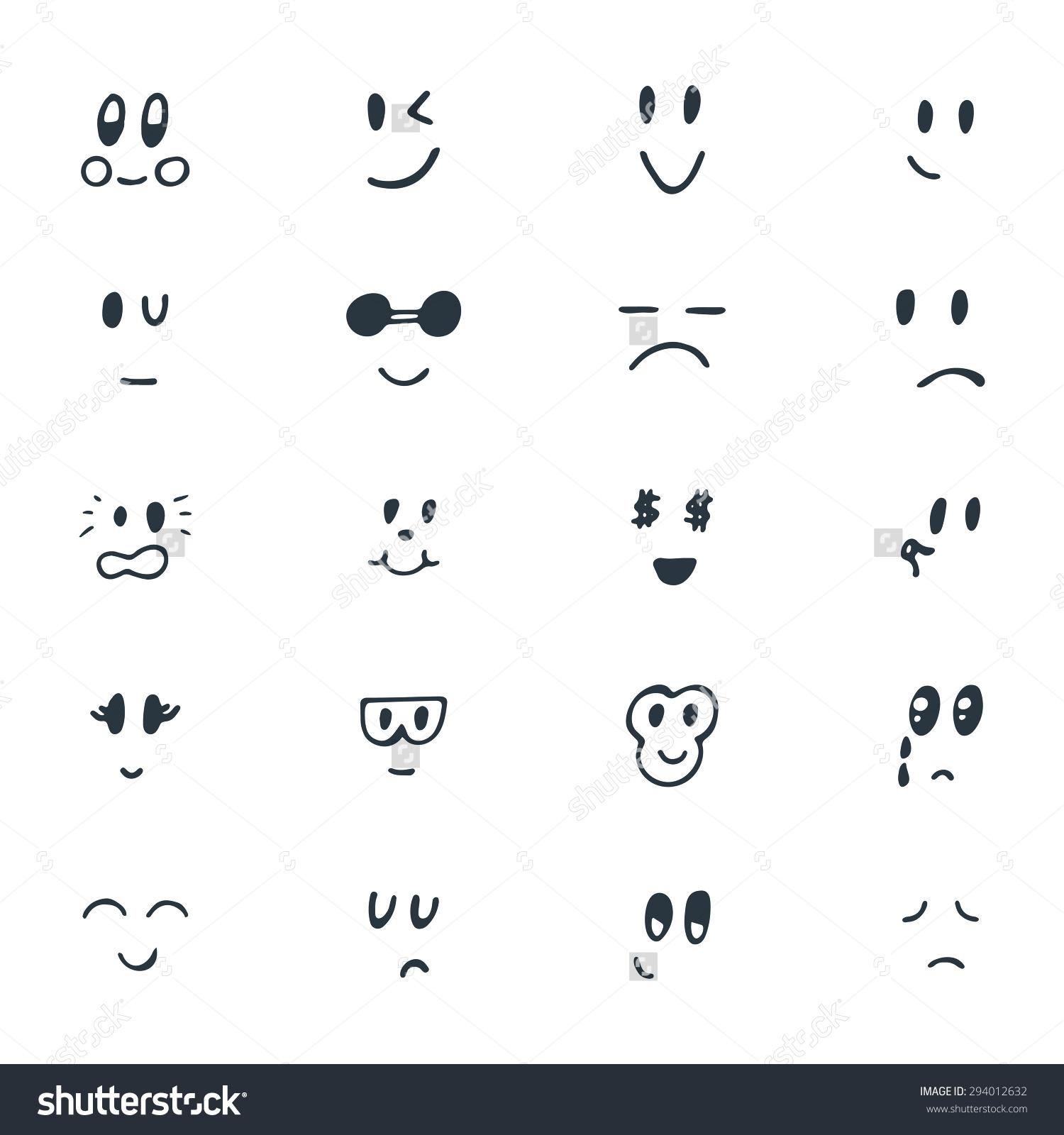 Drawn smileys Funny Smiley Set (81+) Smile