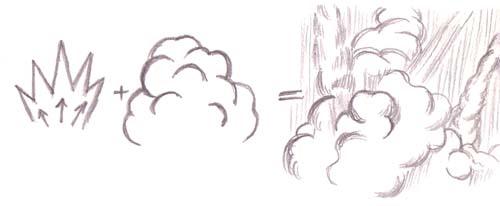 Drawn smoke Force be lines slim short