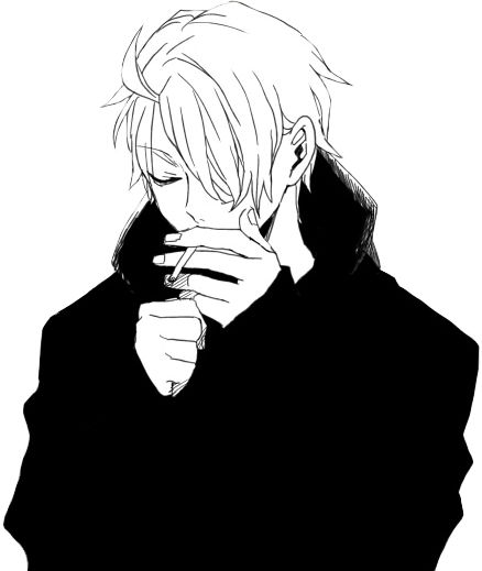 Drawn smoke boy Black Pinterest image 38 on