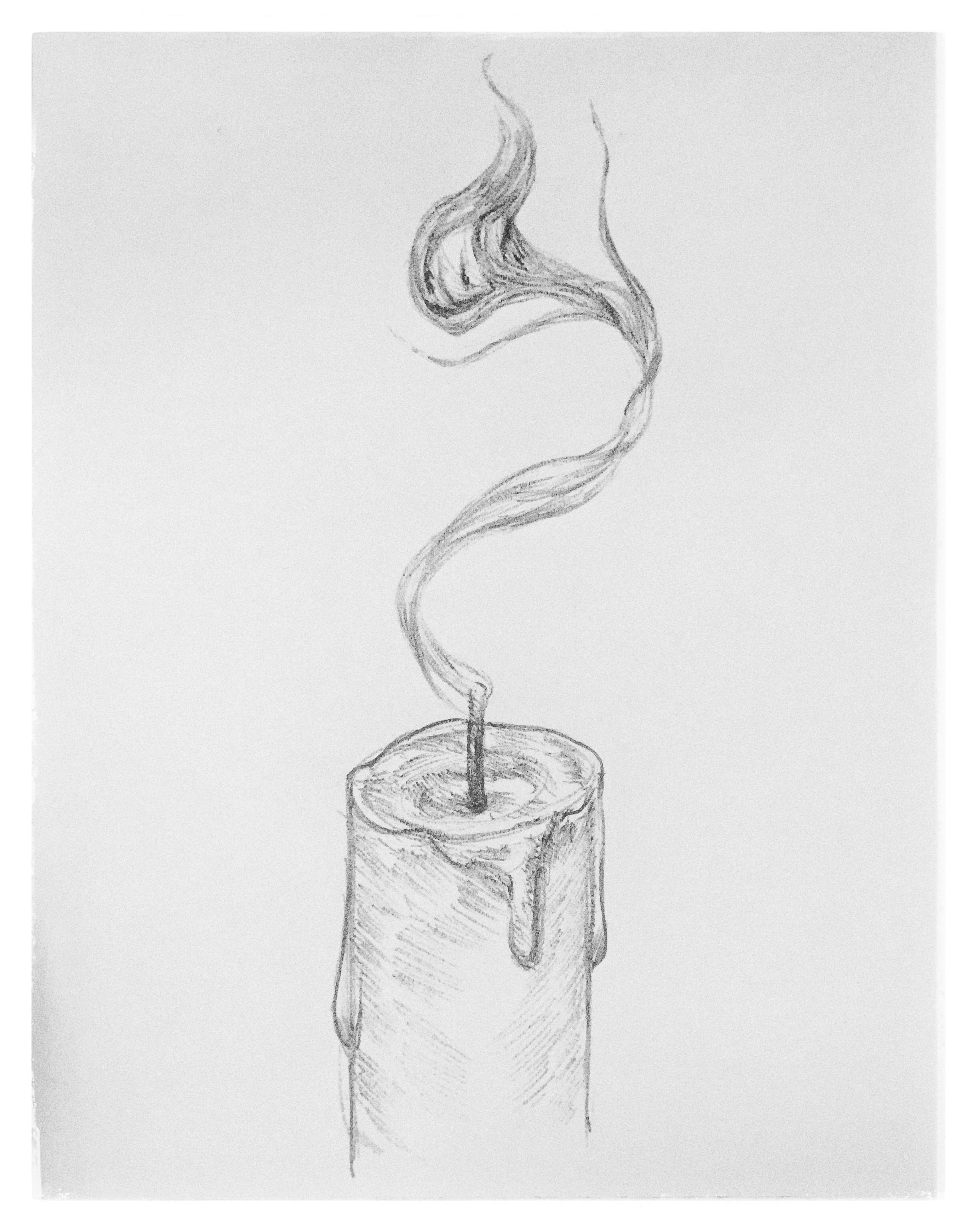 Drawn spirit smokey #pencil 8 #candle #character