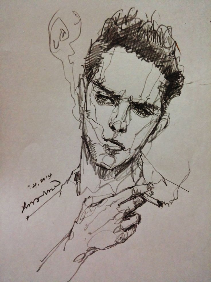 Drawn smoke face Areasdrawing: great Pinterest on Smoke