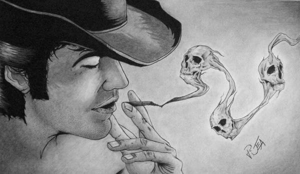 Drawn smoke skull 11+ Download Skull JPG Skull