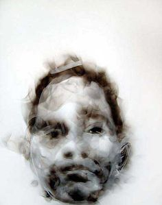 Drawn smokey art With smoke drawing she Work