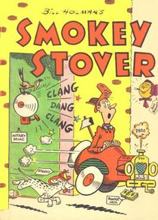 Drawn smokey comic Smokey Stover Wikipedia Stover Smokey