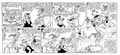 Drawn smokey comic Smokey Holman's Smokey Stover (July