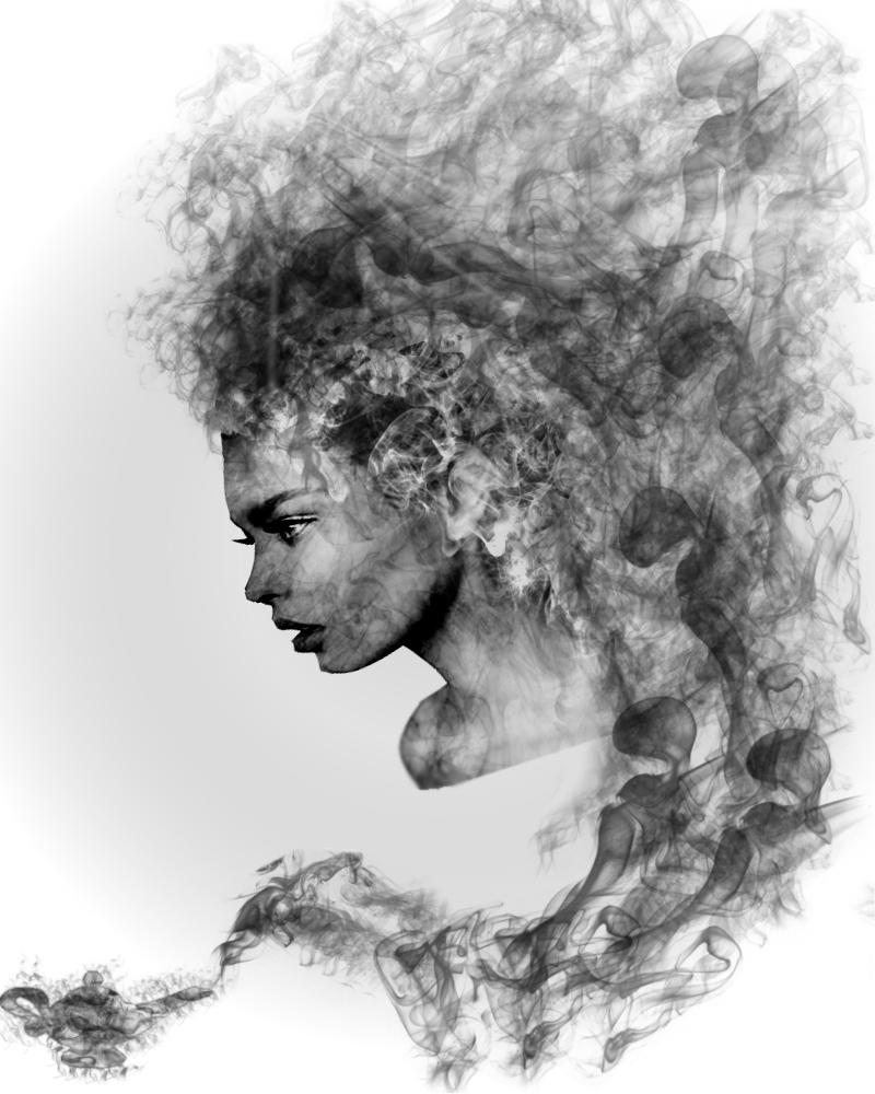 Drawn smokey genie On by pbatu Genie DeviantArt