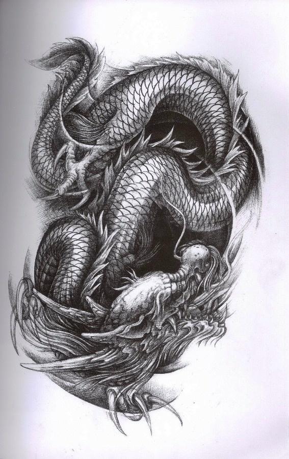 Drawn smokey japanese Pinterest JAPANESE DRAGON JAPANESE on