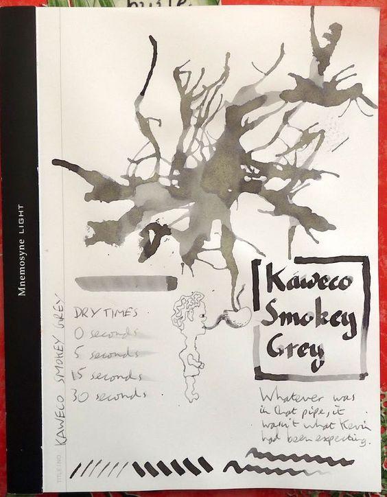 Drawn smokey pen and ink Paper! world's Pinterest Smokey review