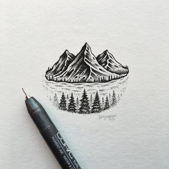 Drawn river mountain river And Find Drawings best this