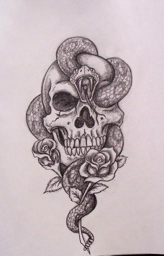 Drawn skull unique Designs and skull tattoos Tattoos