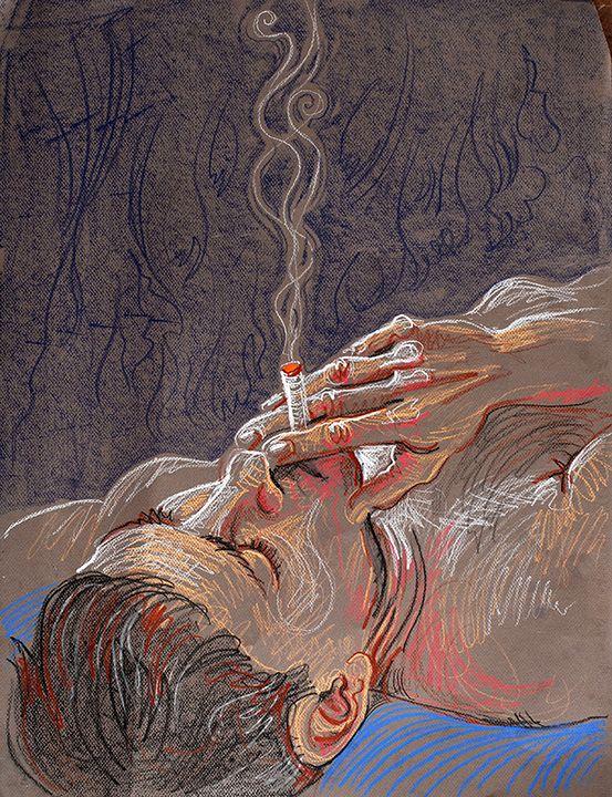 Drawn glass smoke Fred his ideas Smoke 25+