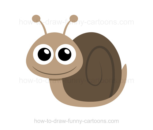 Drawn snail cartoon To How to snail a