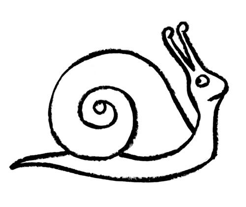Drawn snail clip art A Snail Clip Art Download