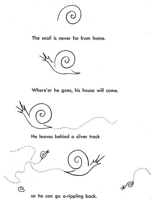 Drawn snail garden snail Draw to draw snails to