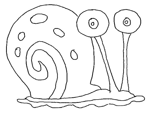 Drawn snail gary Snail Pages:  Pages the