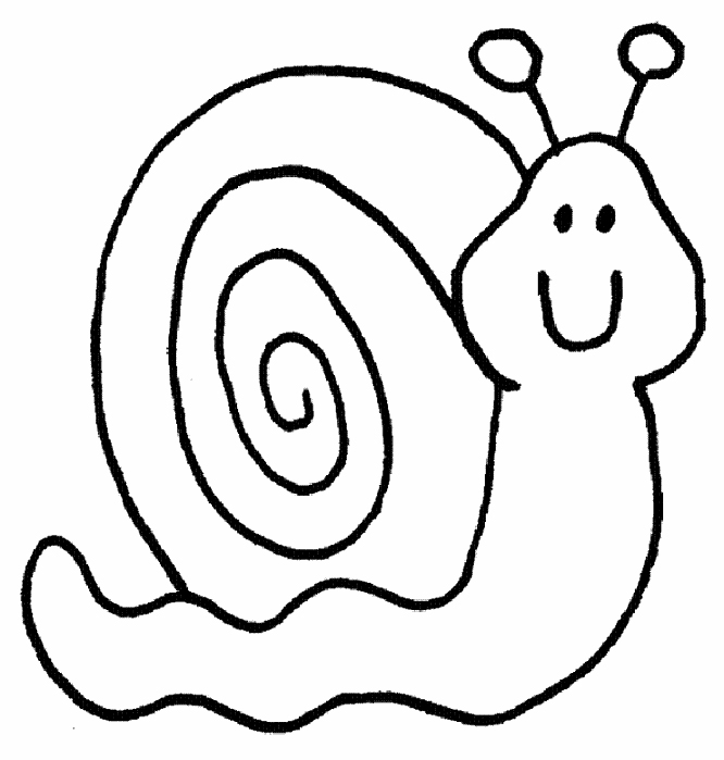 Drawn snail outline Outline Download Of Art Drawings