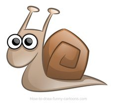 Drawn snail snale Quite see is You'll open