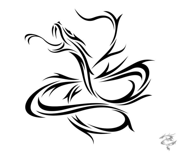 Drawn snake chinese snake Snake zodiac ideas deviantart 20+