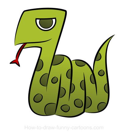 Drawn snake cute Snake + (Sketching drawings drawings