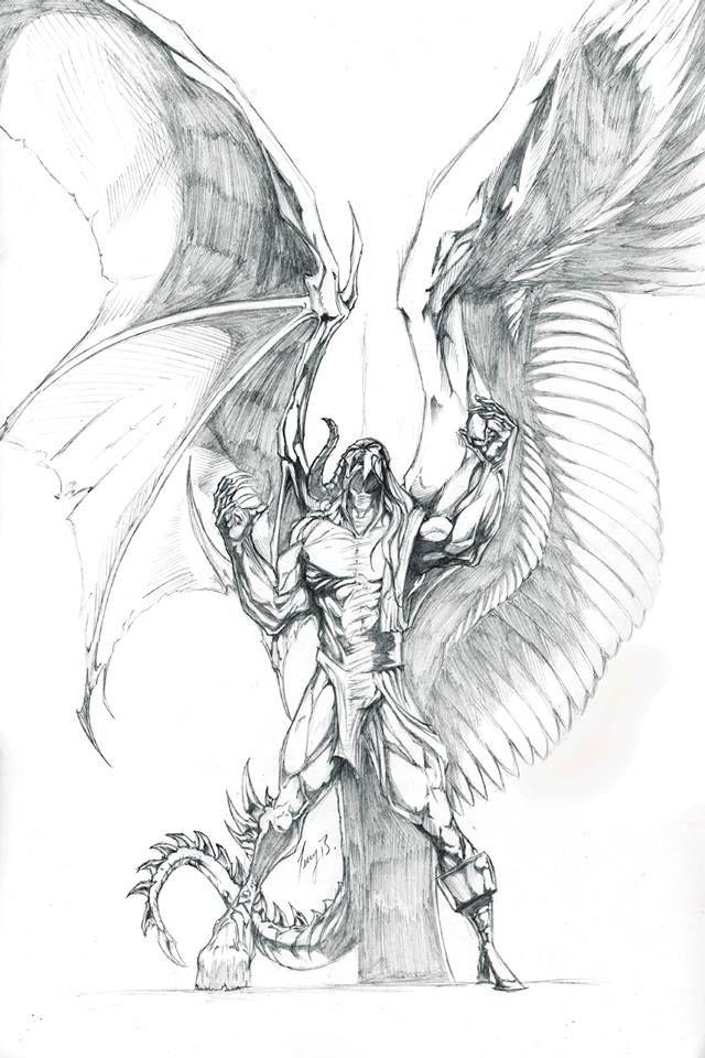 Drawn snake demon 20+ on ideas Demon Torn