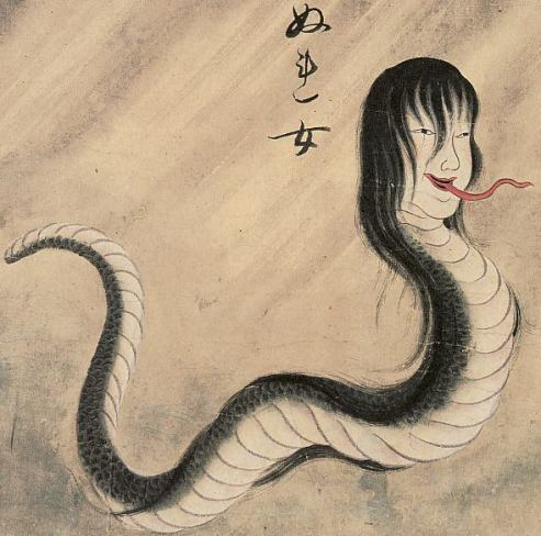 Drawn snake female 17 Female & I Ghosts