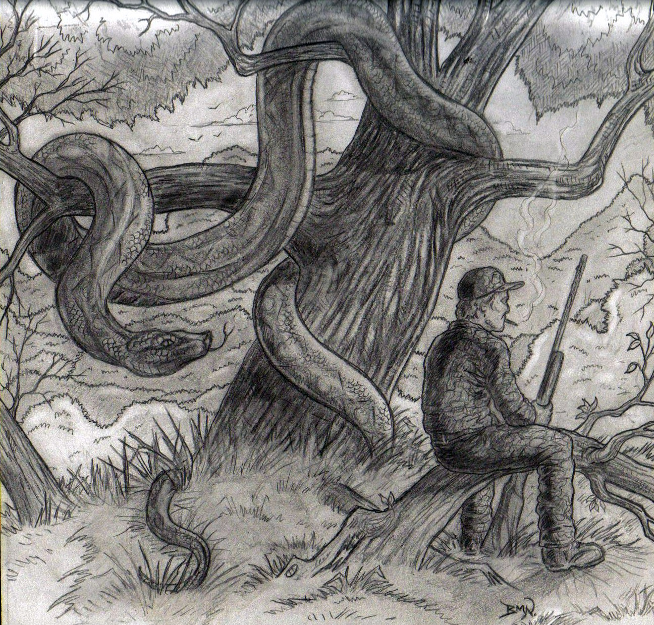 Drawn snake giant snake Dreams Real K Friday: or