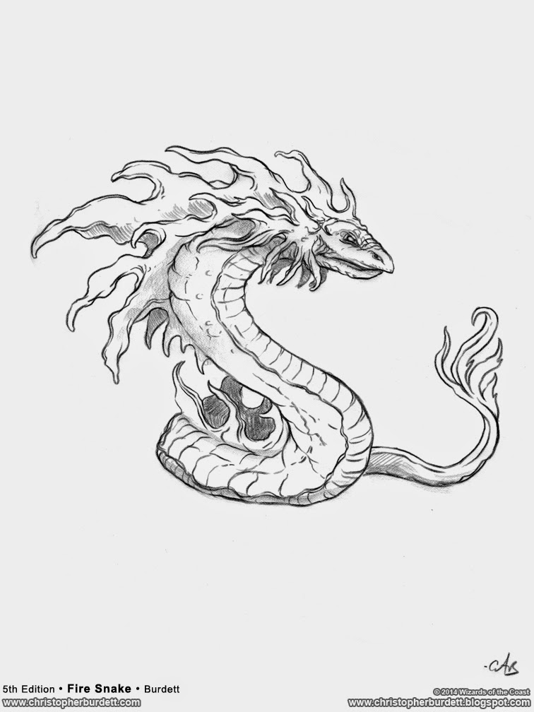 Drawn snake monster Mythology Wallpaper Drawing creatures with