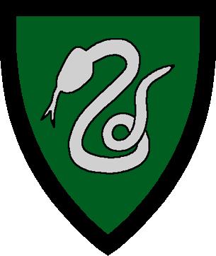 Drawn snake slytherin Slytherin Simple  Symbol