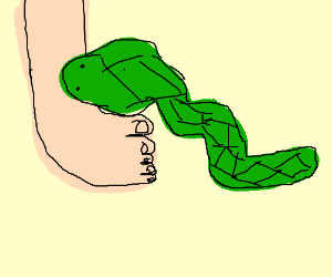 Drawn snake snake attack Puddinghead) (drawing Snake by Attack