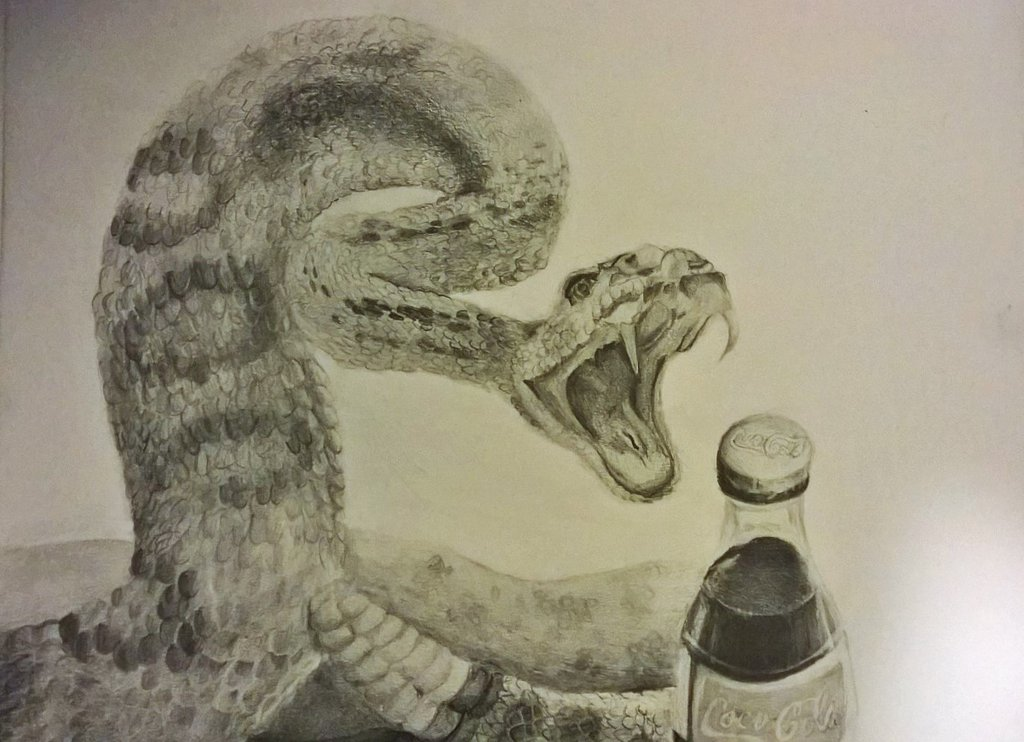 Drawn snake snake attack Ta11y16lupus by Snake by Attack