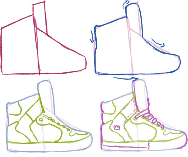 Drawn sneakers Pinterest Best 25+ View on