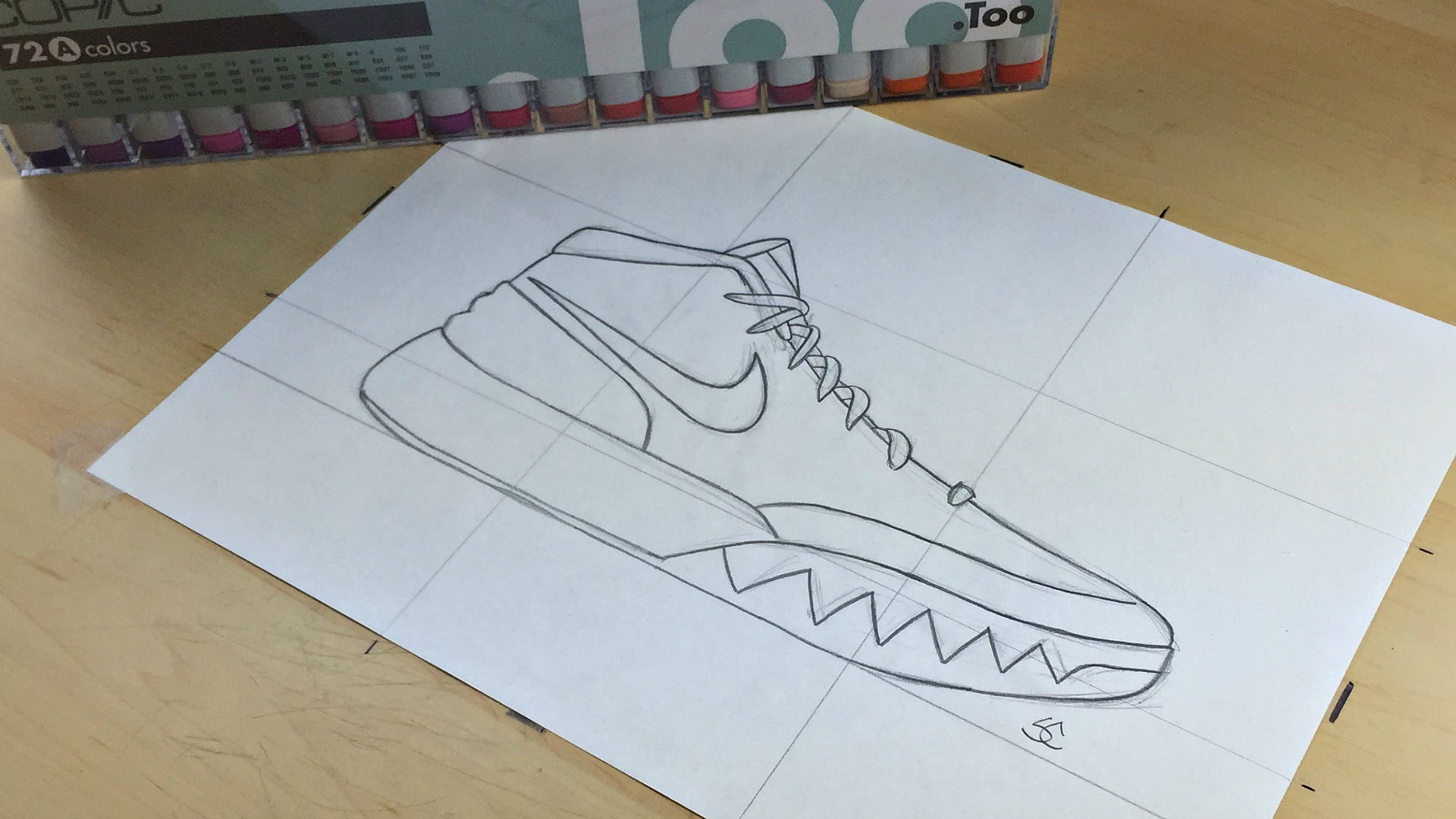 Drawn sneakers kyrie 2 1 To Nike 1 YouTube