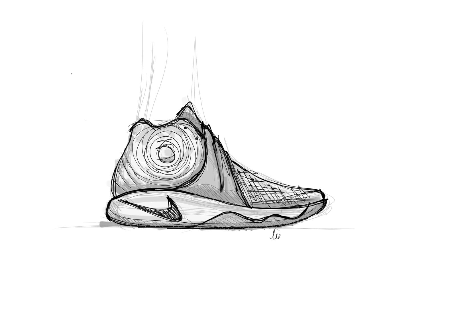 Drawn sneakers kyrie 2 Masterful Physics Image News