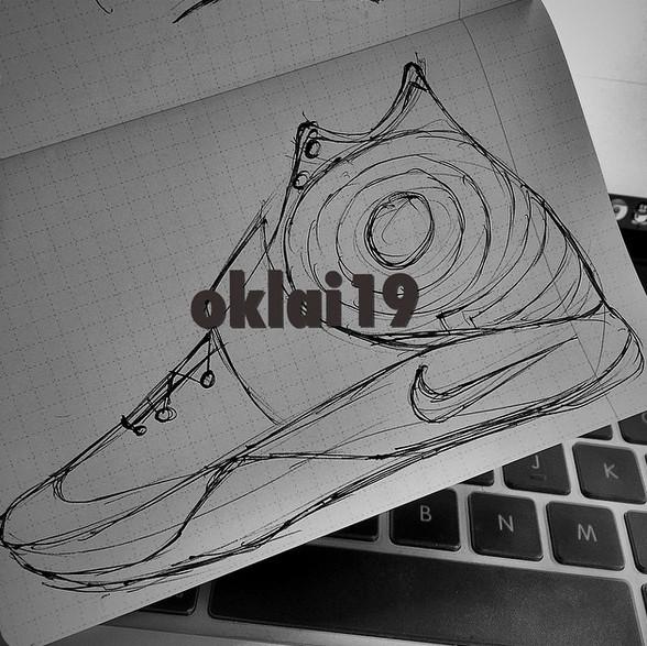 Drawn sneakers kyrie 2 Kyrie a Next Kyrie Sketch