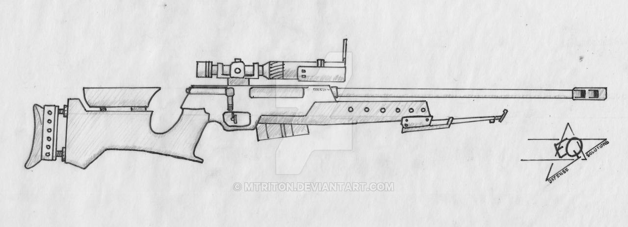 Drawn sniper #13