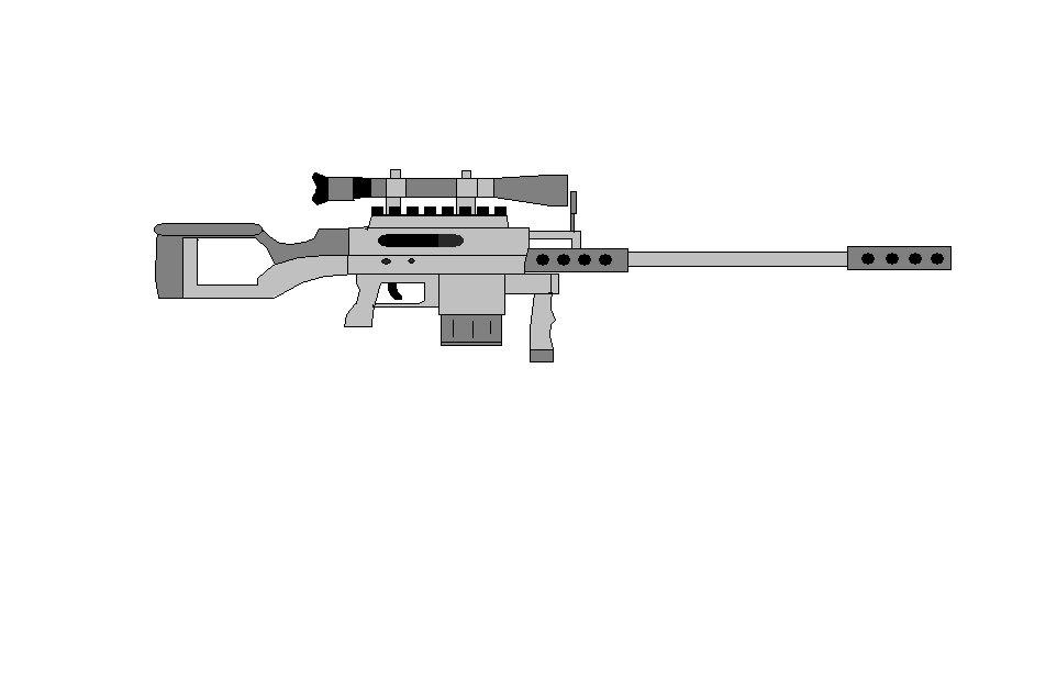 Drawn sniper #4
