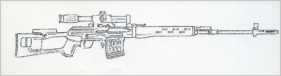 Drawn snipers 7 Rifle: mm info 62