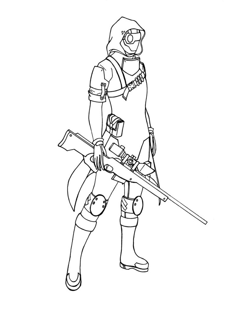 Drawn snipers Female by ~Spectras on Snipers