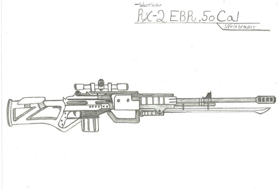 Drawn snipers 50 cal Cal on Warrick Azure DeviantArt