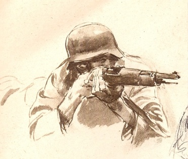 Drawn snipers Below Wartime a Part is
