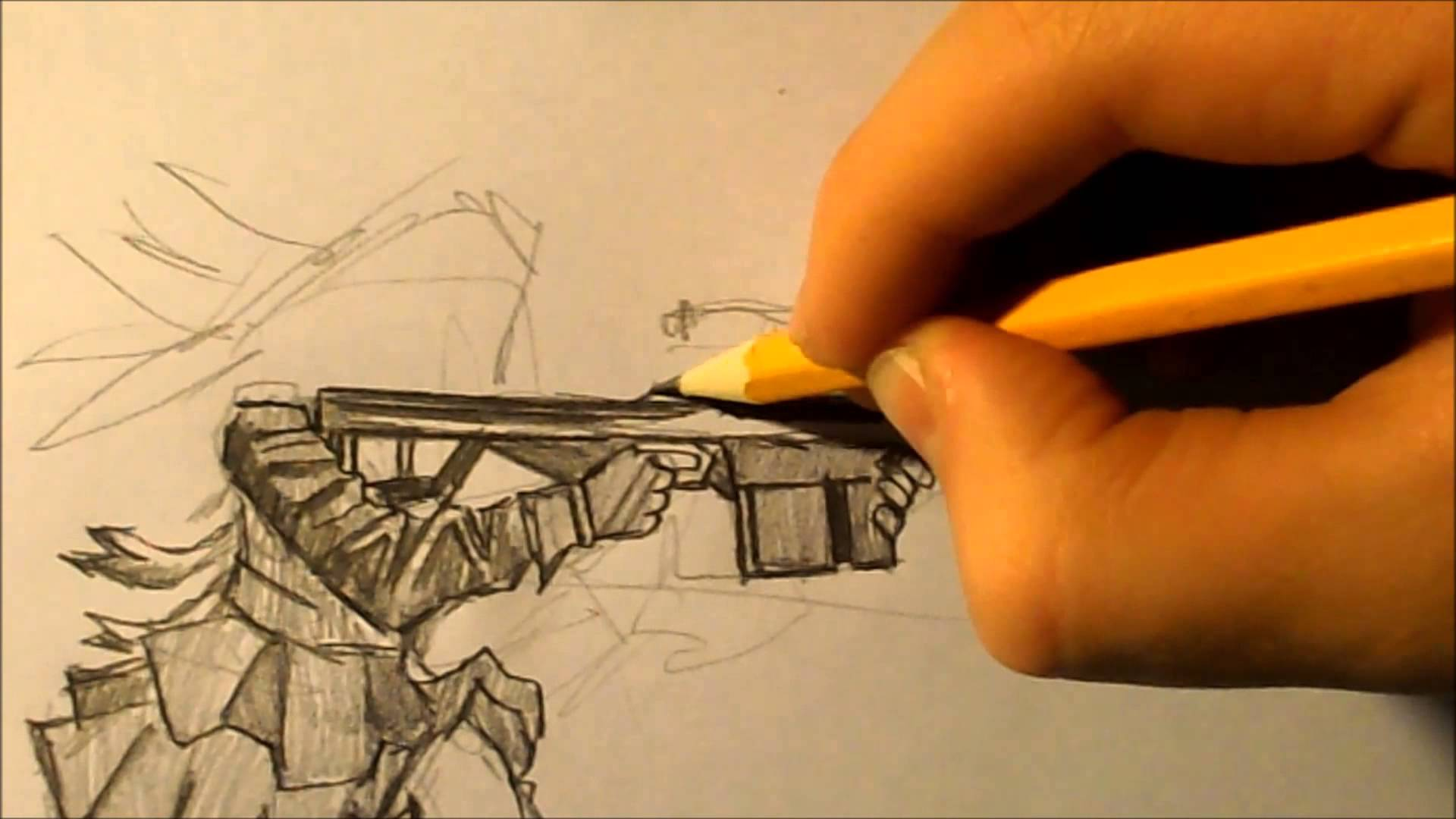 Drawn snipers Speed YouTube sniper drawing drawing