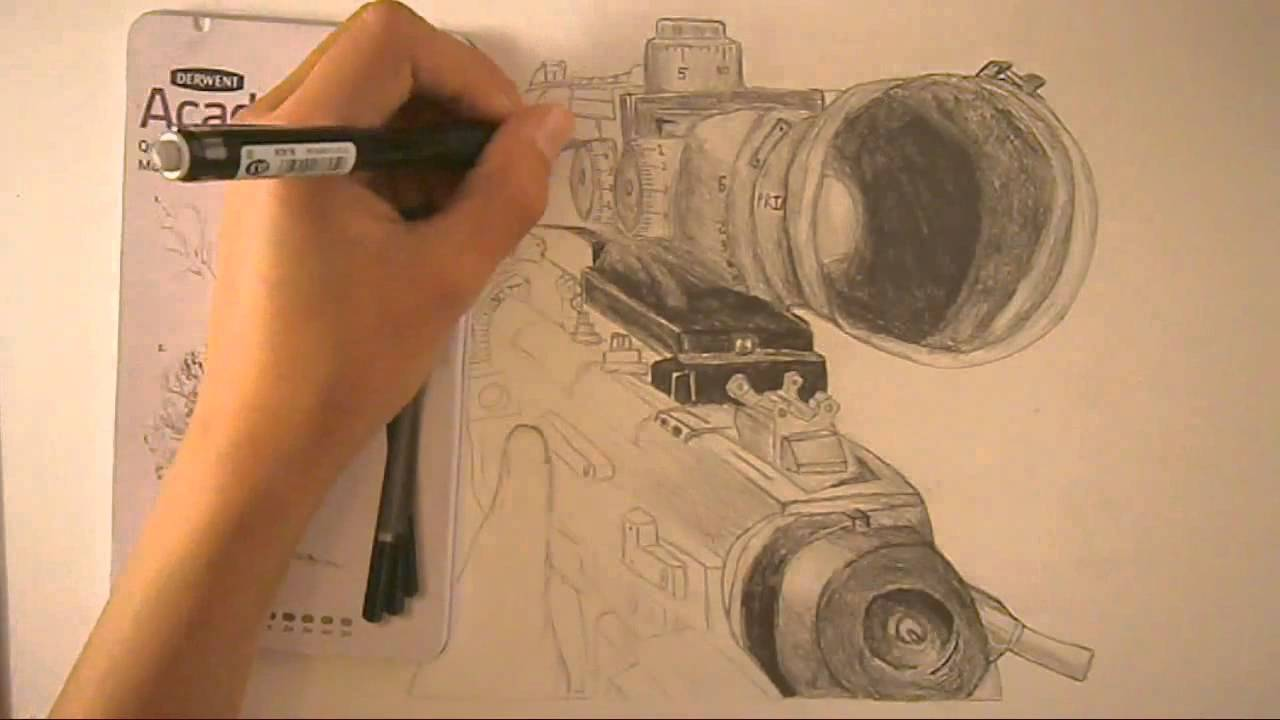 Drawn snipers american sniper Sniper Drawing  Speed Intervention