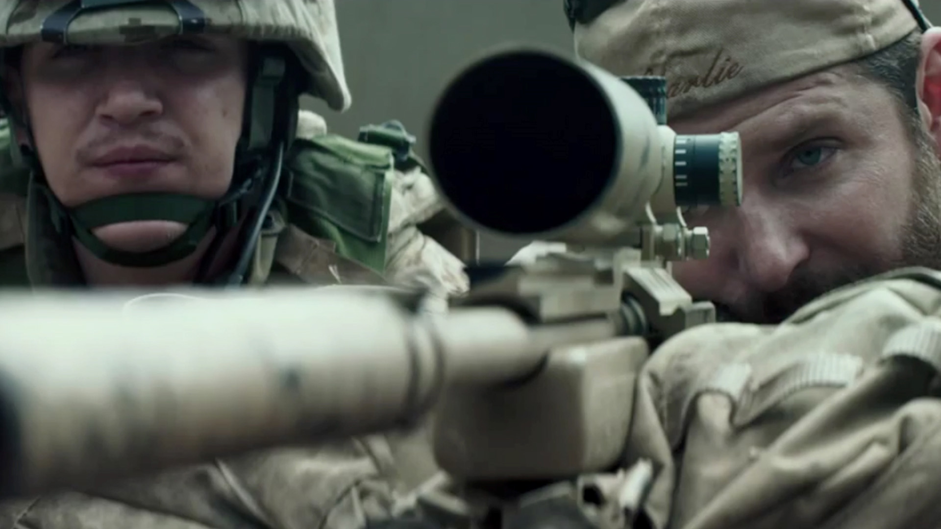 Drawn snipers american sniper On of provokes Sniper' American