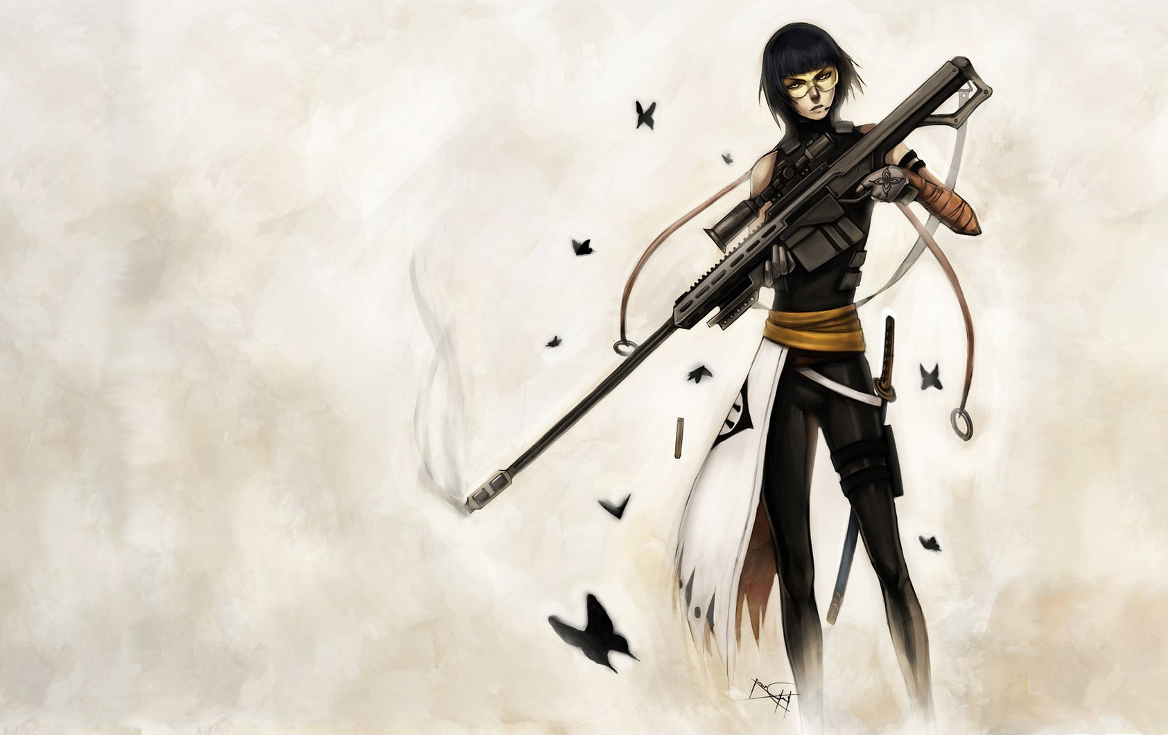Drawn snipers anime boy Anime/Wallpapers #1785305 #1785305 w/ »