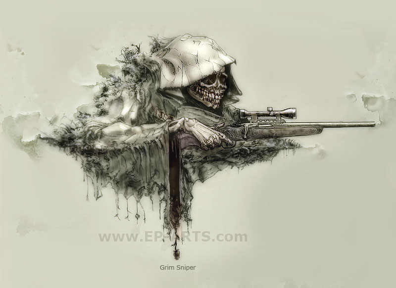 Drawn snipers army logo By DeviantArt egilpaulsen Sniper on
